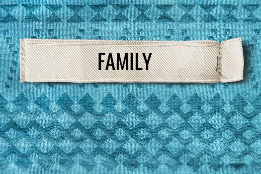 family label