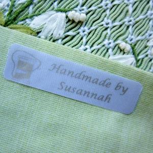 soft satin labels for crafts